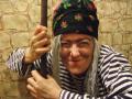 Сидорова Елена (Бабаево), В образе  Бабы Яги», русская народная сказка «Гуси-лебеди» - Фу-фу-фу, чую я: русским духом пахнет!   Раньше русский дух от меня скрывался,   а теперь до моей избушки добрался…