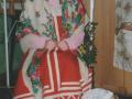 Тимофеева Оксана (Бабаево), образе  Купчихи из рассказа С.Писахова «Как купчиха постничала?»
