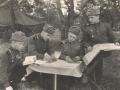 Новожилов Павел Иванович (второй слева) на тактических учениях
