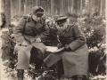 Солодягин Алексей Иванович (слева), декабрь 1944 г