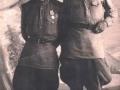 «Мазуров Владимир Семенович» (слева) с фронтовым другом