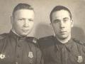 Участник ВОВ Сапин Александр Петрович (слева)