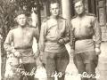 Колосов Василий Григорьевич (справа) с боевыми товарищами.