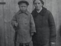 Моя прабабушка Чекмарева Евстолия Андреевна с сыном Леонидом