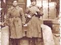 Надежичев Александр Васильевич (1918-1975) с боевым товарищем