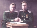 Ширкунов Александр Аркадьевич (справа) с другом после Парада Победы