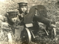 На фото справа, с пулеметом,  Раскатов Ливерий Васильевич.