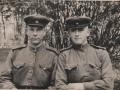 Валерьян Васильевич (на фото слева), 13 мая 1945 г., ст. Кобьир, Польша.