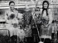 Фотография сделана в 1942 году в дер. Манылово Тотемского района