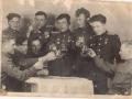 Марков Василий Иванович в кругу сослуживцев. 1943 г.