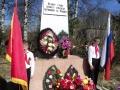 Почетный караул у обелиска павшим землякам. Автор: Карьков Александр (Вашкинский район)