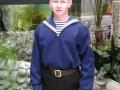 «Я служу на флоте». Автор: Касымова Анна (Харовский район).