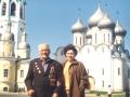 Новожилов Павел Иванович  с внучкой. Автор: Чижова Любовь (Вологда)