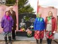 Открытие памятника в д. Брусенец. Автор: Ельцова Ирина (Нюксенский район).