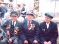 Мой отец Халявин Александр Иванович (в центре) с земляками-ветеранами войны. Автор:  Халявина Ольга (Вологда).