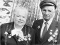 Участники ВОВ супруги Еропкины Сергей Алексеевич и Лидия Георгиевна. Автор: Кирюшина Ирина (Вожега).