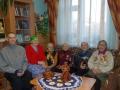 Ветераны войны и труженики тыла, проживающие в настоящее время в Вашкинском Доме Милосердия. Автор: Светлана Терентьева