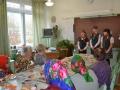 На этом фото мы поздравляем ветеранов, пришедших к нам в школу на праздничное мероприятие. Автор: Шутова Анна (Вологодский район).