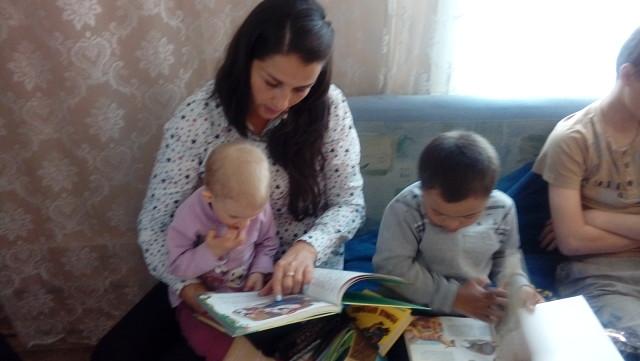Громкие чтения (читаем вместе) в рамках акции Читать не вредно-вредно не читать
